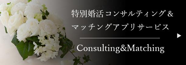特別婚活コンサルティング&マッチングアプリサービス
